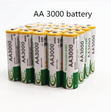 Dolidada New AA battery 3000 mAh Rechargeable battery NI-MH 1.2 V AA battery for Clocks, mice, computers, toys so on(China)