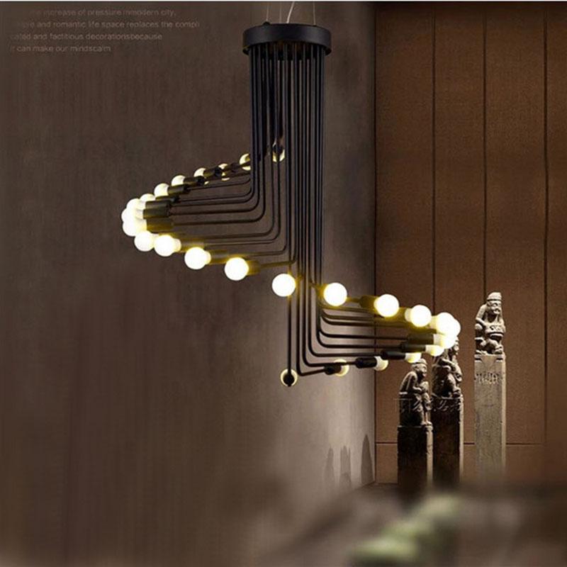 museo de caf minimalista loft pas de amrica retro colgante de luz restaurante bar escalera de