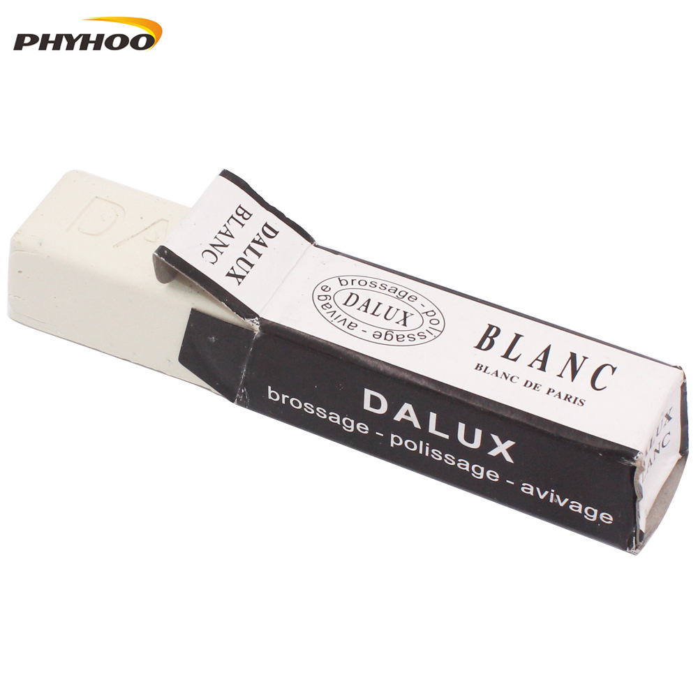 DIALUX Rough Jewelers Rough Polishing Conpound White For Gold &Silcer Rouge Bar Polishing Wax Compound France