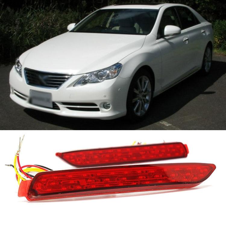 Ownsun Superb Quality LED Reflector Rear Tail Light Bumper For Toyota Reiz Camry чехлы для автокресел yuxuan toyota camry vios reiz rav4