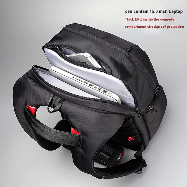 Anti Theft USB Charging Backpack