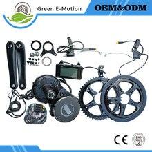 Free shipping bafang BBS03 crank drive motor 48v 1000W electric bicycle wheel motor electric bike conversion kit trike ebike kit
