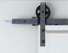 Даймон индивидуальные раздвижные двери оборудования деревянные двери сарая оборудования висит колесо Америка Стиль Раздвижные двери оборудования DM-SDU 7210