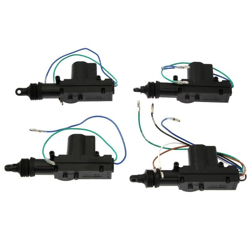 CARCHET Keyless Entry Security Remote + Car Alarm 4 Door Power Lock Actuator Vehicle Kit