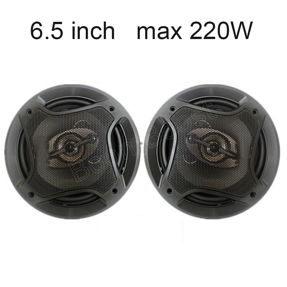one pair 6 5 inch coaxial font b car b font speaker font b audio b