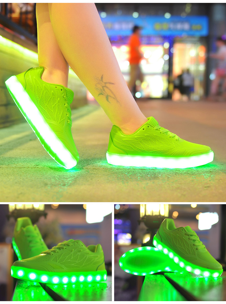 Led Sneakers Earth 4