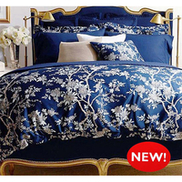 Advanced Printing Cotton Satin Bedding Set 4pcs Luxury Bed Cover King Queen Size Duvet Cover Bed