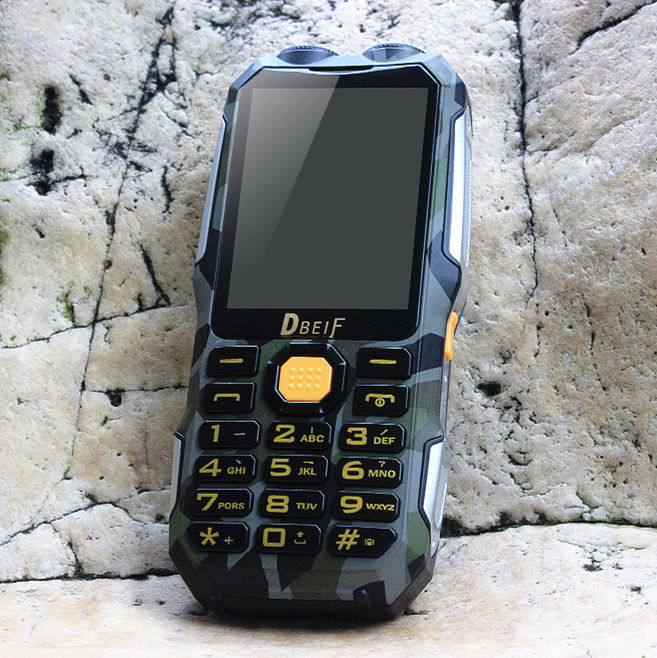 DBEIF power bank Analog TV FM dual flashlight mobile phone russian keyboard gsm Phone china Cell Phones cellular phones
