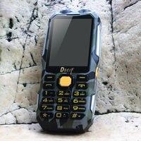 DBEIF D2016 банк питания аналоговый ТВ FM двойной фонарик мобильный телефон русская клавиатура gsm телефон Китай сотовые телефоны