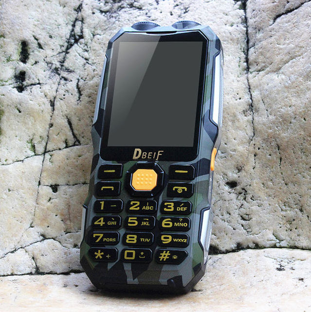 DBEIF D2016 power bank Analog TV FM dual flashlight mobile phone russian keyboard gsm Phone china Cell Phones cellular phones