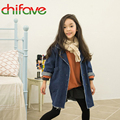 2015 New Girls Clothing Baby Girls Jeans Denim Jacket Coat Kids Fashion High Quality Jacket Children's Coat Outwear