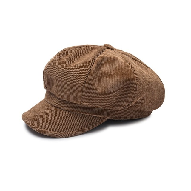 49230f8d3 VISROVER New Winter Hats for Women Solid Corduroy Military Girl HatS for  Female Ladies Designer Caps Warm Casual High Quality