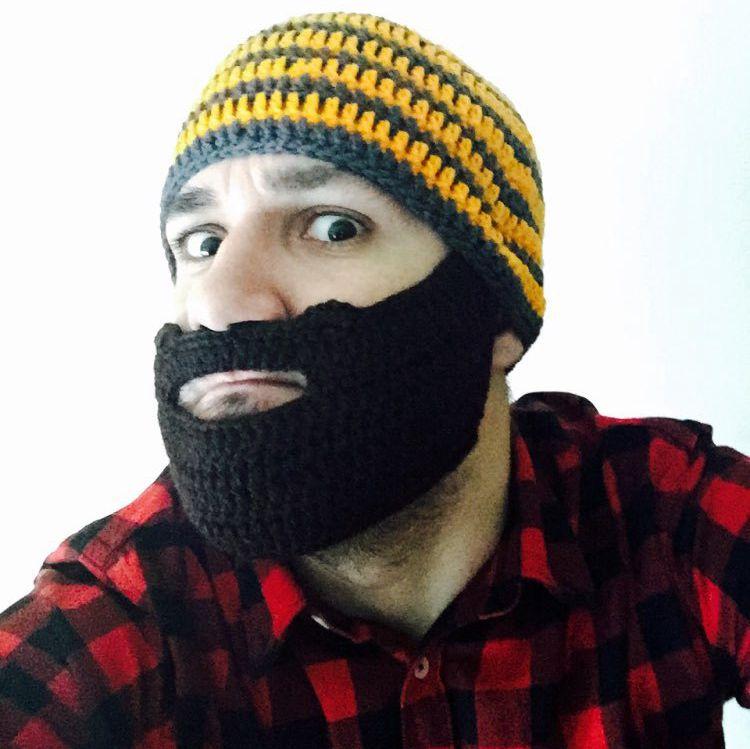 Mr. Verrückte Lustige Cool Erwachsenen Handgemachte Knit Hut Cosplay ...