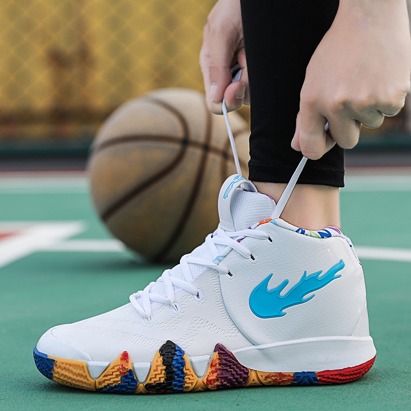 2019 New Release Basketball Shoes Men Women Sneakers Kyrie 5 Breathable Kyrie 4 Jogging LBJ Trainers Max Size European 44