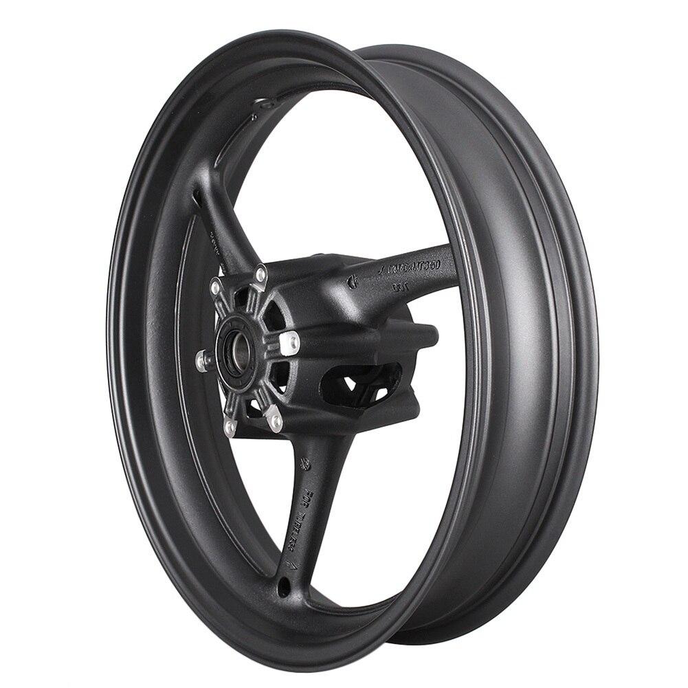 Aluminum Motorcycle Front Wheel Rim For SUZUKI GSXR 600 750 GSXR600 GSXR750 K8 2008 2010 & GSXR1000 2009 2016 K9 Matte Black