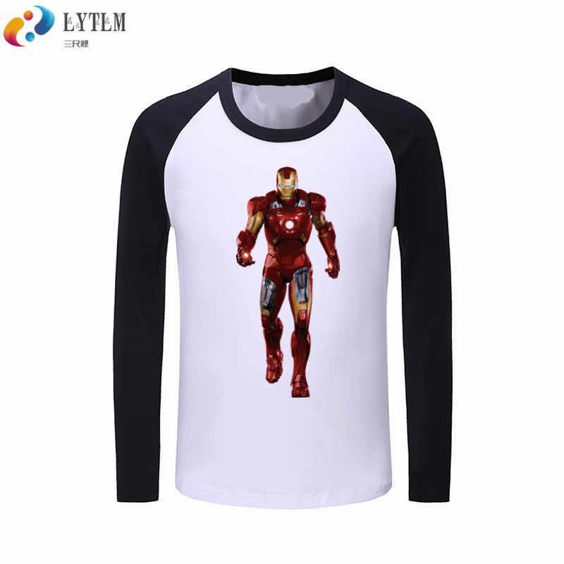f3374ae72 LYTLM Boy T Shirts for Children Marvel Ironman Tshirt Kids Raglan Kids Long  Sleeve T-