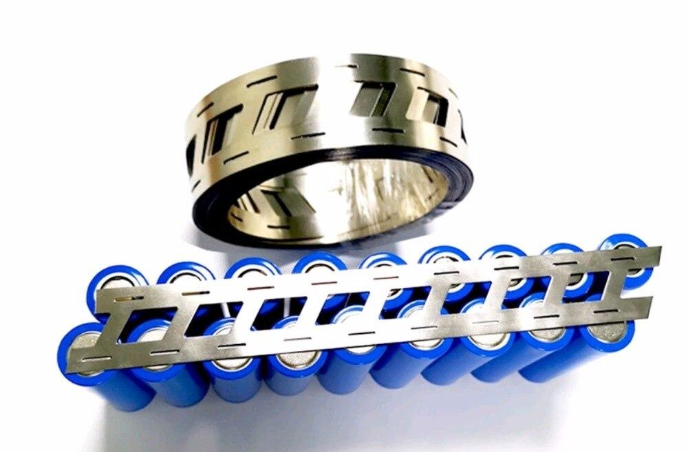 High Purity Pure Nickel Belt 2P Lithium Battery Nickel Strip 18650 Nickel Li-ion Batteries Ni Plate Used For 18650 1Meter,