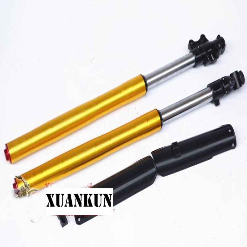 XUANKUN  Off-Road Motorcycle Accessories Modified In Front Of The Shock Before The Fork 710-735-800MM Long Shock Absorber xuankun off road motorcycle accessories off road vehicle drum core