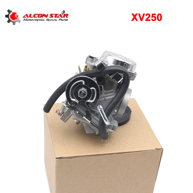Alconstar- Motorcycle Carburetor Assy Carb For Yamaha Virago 250 XV250 Route 66 1988-2014 Motorcycle Engine parts Racing duplex twin cylinders rebel motorcycle carburetor assy set for mikuni chamber carb set cmx 250 cbt250 ca250 dd250 300cc