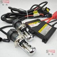 H4 Bi Xenon H13 9004 9007 Bi Xenon High Low Beam Flexible Xenon HID KIT SET