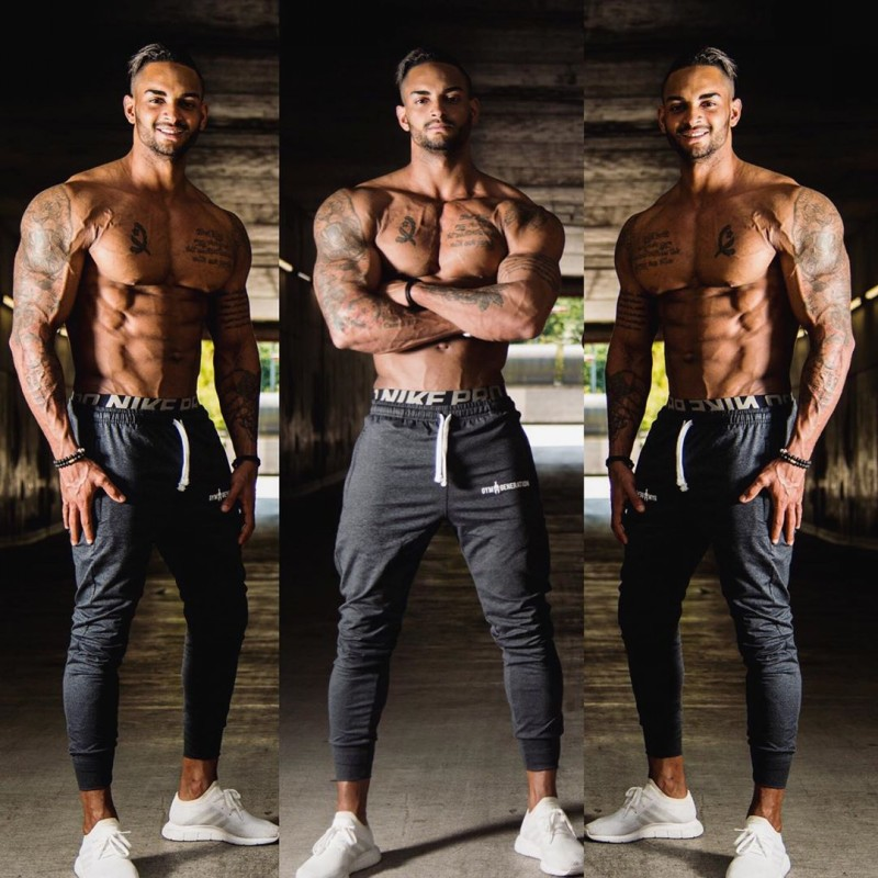 Brand 2019 NEW GYMS Mens Joggers Pants Fitness Casual Fashion Brand Joggers Sweatpants Bottom Snapback Pants Men Casual Pants