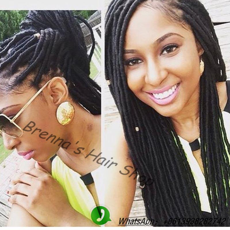 Terrific Aliexpress Com Buy 14 18 Natural Hair Faux Locs Tutorial Short Hairstyles For Black Women Fulllsitofus