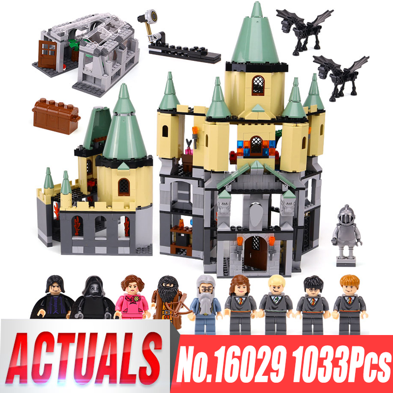 Lepin 16029 Genuine Movie Series The Magic hogwort castle set legoingly 5378 Educational Building Blocks Bricks Toys Model Gifts lepin 16017 castle series genuine the king s castle siege set children building blocks bricks educational toys model gifts