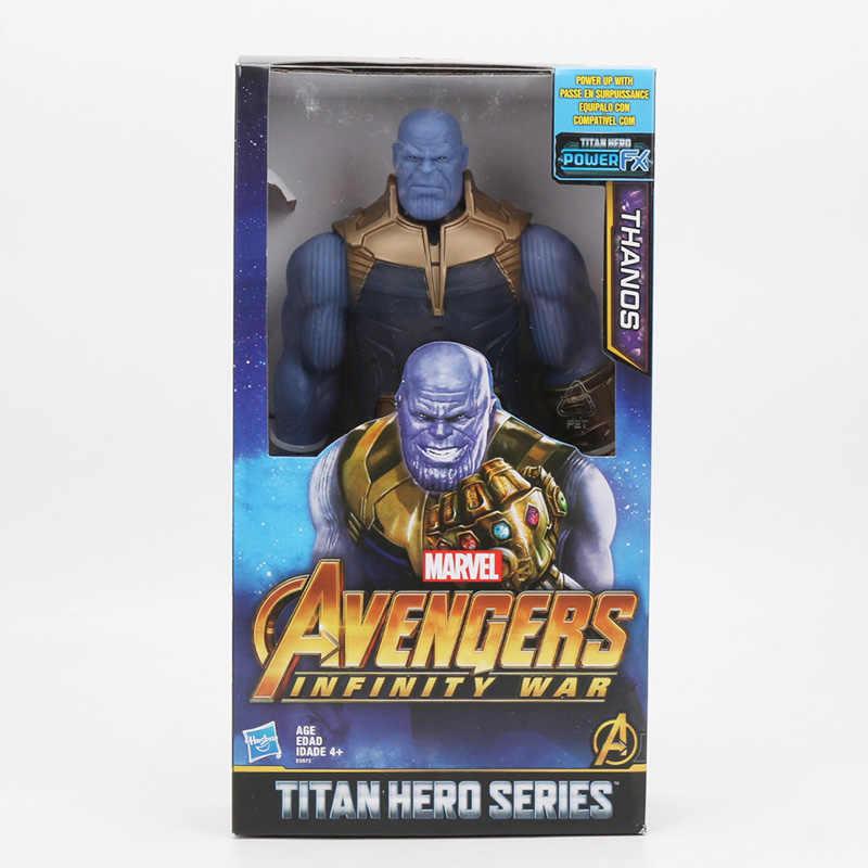 2019 29 centimetri Marvel Captain the Avengers 4 Giocattoli INFINITY GUERRA Thanos Action Figures TITAN EROE della SERIE Figure Da Collezione Modello giocattolo