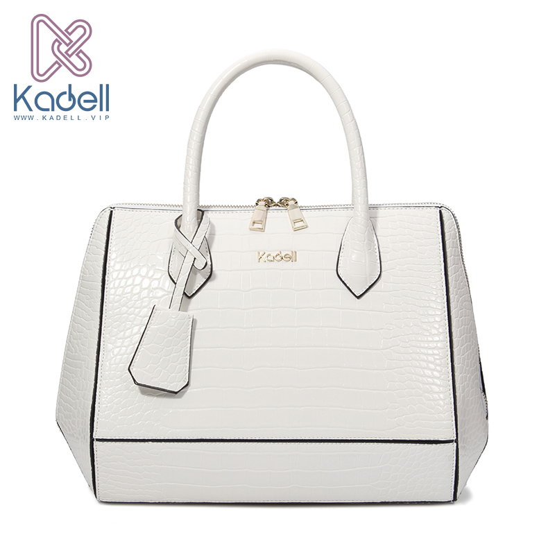 Kadell Luxury Handbags Women Bags Designer PU Leather Bags Ladies Crocodile Pattern Women Messenger Bags Famous Brands Shell Bag ly shark crocodile cowhide leather women messenger bags luxury handbags women bags designer crossbody bags women shoulder bag