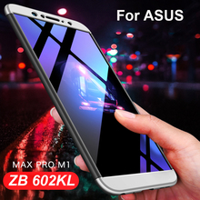 3-in 1 Hybrid 360 Full Cover Hard Case for Asus Zenfone Max Pro M1 ZB602KL Back Matte Case for Asus ZB602KL ZB 602kl Max Pro M1 цена 2017