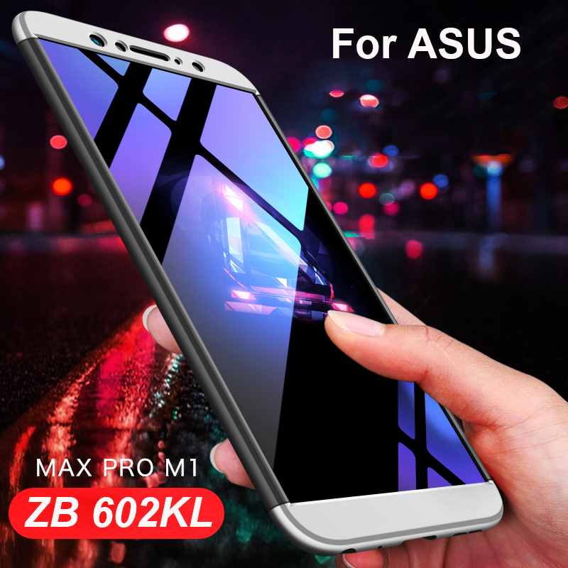 3-in <font><b>1</b></font> Hybrid <font><b>360</b></font> Full Cover Hard Case for <font><b>Asus</b></font> <font><b>Zenfone</b></font> <font><b>Max</b></font> <font><b>Pro</b></font> M1 ZB602KL Back Matte Case for <font><b>Asus</b></font> ZB602KL ZB 602kl <font><b>Max</b></font> <font><b>Pro</b></font> M1 image