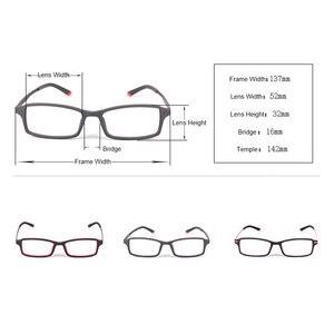 Image 3 - Reven Jate 7011 Full Rim Flexible Frame Pure Titanium Super Light Temple Legs Prescription Eyeglasses Frame Optical Glasses