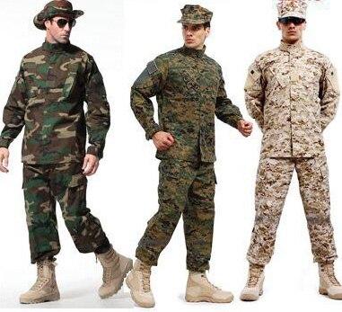 Hommes en plein air militaire tactique chemise + pantalon Multicam uniformes ACU FG Camouflage uniforme US armée uniforme Airsoft vêtements de chasse