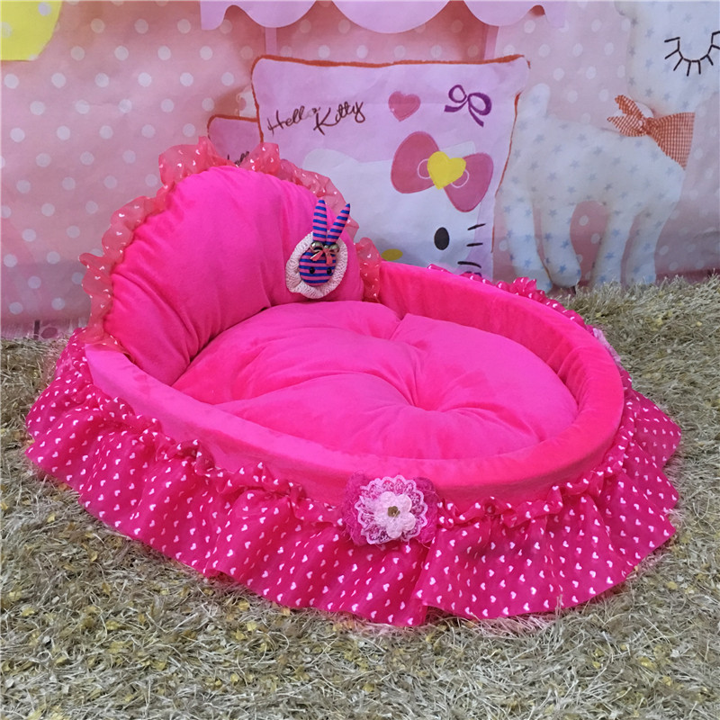 Pet house pet beds Soft and comfortable doghouse kennel Kitty Litter Cat nest detachable washable miniature pinscher 45 x 40 cm