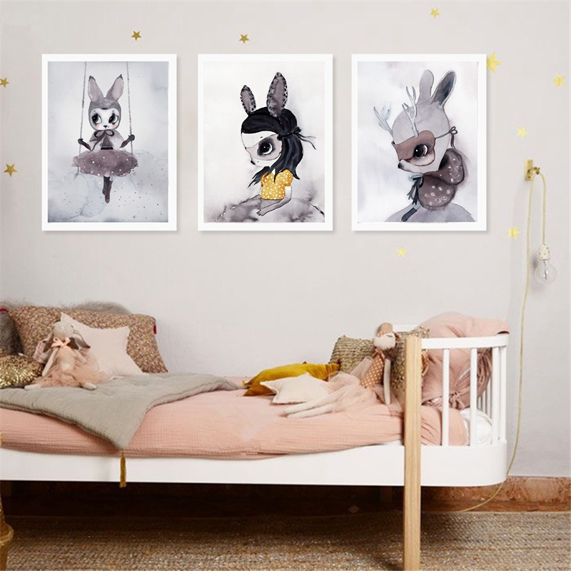 Decoration Rabbit On The Baby S Room