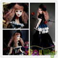 Brand New Heat Resistant Fluffy Weaving Retro Colored Wigs for 1/3 1/4 1/6 BJD Dolls