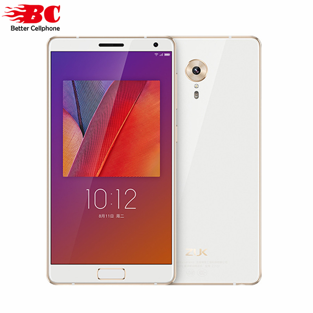 "Original New Lenovo ZUK Edge Smart Mobile Phone Snapdragon 821 Quad Core Fingerprint 13.0MP 4G FDD TDD 5.5""FHD 4GB ram 64GB rom"
