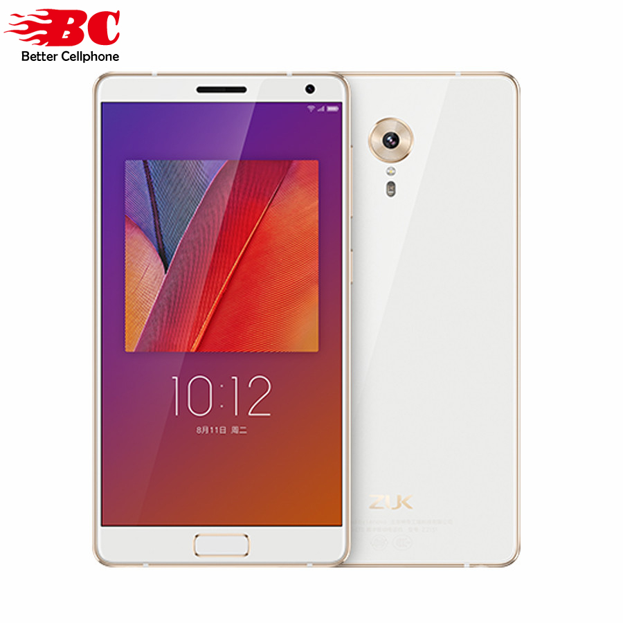 "Lenovo ZUK Edge Smart Mobile Phone Snapdragon 821 Quad Core 4G FDD TDD 5.5""FHD 4GB ram 64GB rom"