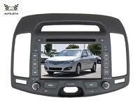 4UI intereface combinados em um único sistema DVD PLAYER DO CARRO PARA Para Hyundai Elantra 2006-2011 Série Antiga Rádio Do Carro Do Bluetooth Gps TV