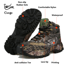 Men High Quality Special Force Military Tactical Desert Combat Ankle Boots SWAT Boats Army Work Boots FashionCamouflage Shoes