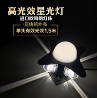 7W Rainproof Outdoor LED Wall Light / Radiant Hotel Facades / Architectural Lighting with Beams
