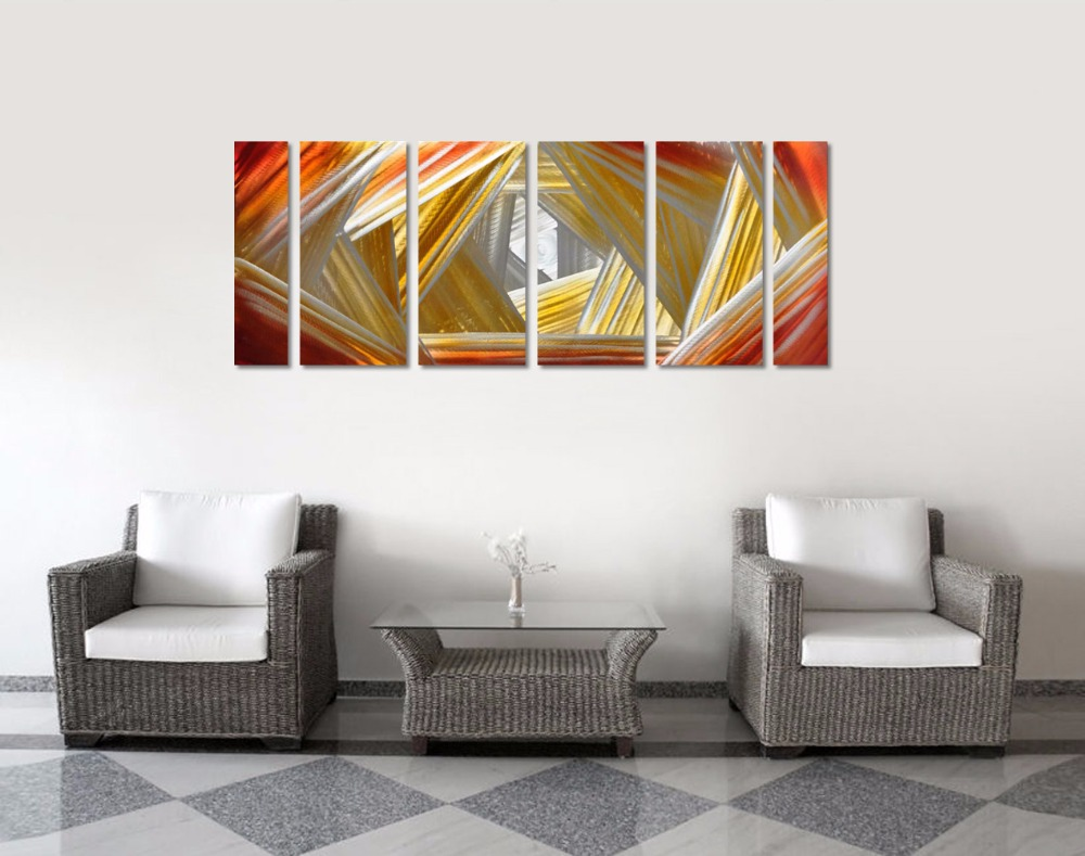 compare prices on contemporary abstract wall art online shopping  - aluminum wall art original large abstract painting modern contemporarysculpture decorative artwork(china (mainland
