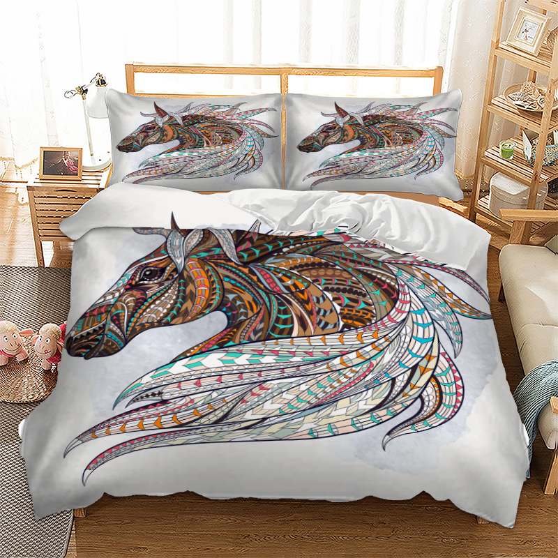 Stand Elephant Duvet Covers Comforter /& Pillow Case Queen Size Bohemian Set