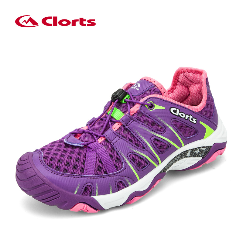 2018 Clorts Women Upstream Shoes New Arrival Light Quick-drying Water Sneakers Summer Aqua Shoes for Women 3H025C shipped from usa warehouse 2018 clorts women water shoes summer beach shoes quick dry aqua shoes for women free shipping wt 24a