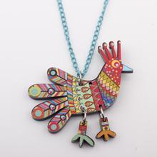 Acrylic Chicken Necklace