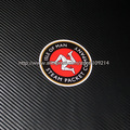 Hot sale Isle of Man TT  helmet motorcycle Sticker Decals Waterproof 19