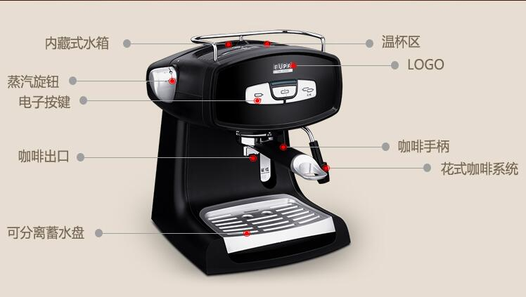 Coffee Maker Pump Pressure : machine mixer Picture - More Detailed Picture about china Eupa 15bar pressure steam Coffee ...