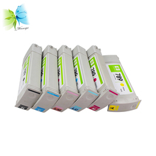 WINNERJET for HP 789 Remanufactured Ink Cartridge for HP Designjet L25500 Printer 775ml BK C M Y LC LM 1pcs remanufactured ink cartridge for hp 51640 hp 40 for hp designjet series 230 250c 330 350c 430 450c 455ca 488ca 650c printer