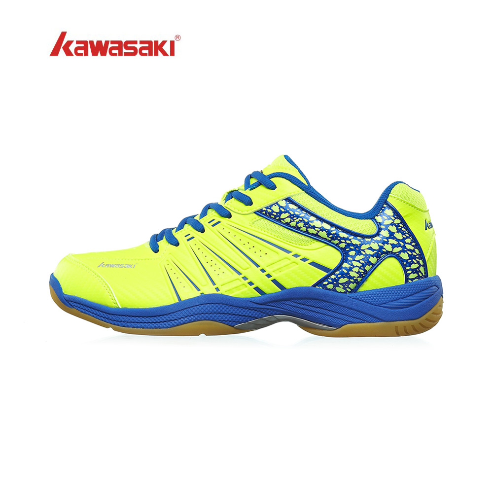 Kawasaki Badminton-Shoes Court-Sneakers Professional Indoor Breathable Women Mens Brand