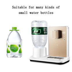 3 seconds fast-heating water dispenser desktop small instant-heating mini desktop water dispenser hot and cold water machine